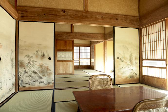 畳、和風、母屋、千葉、いすみの古民家と自然光スタジオ