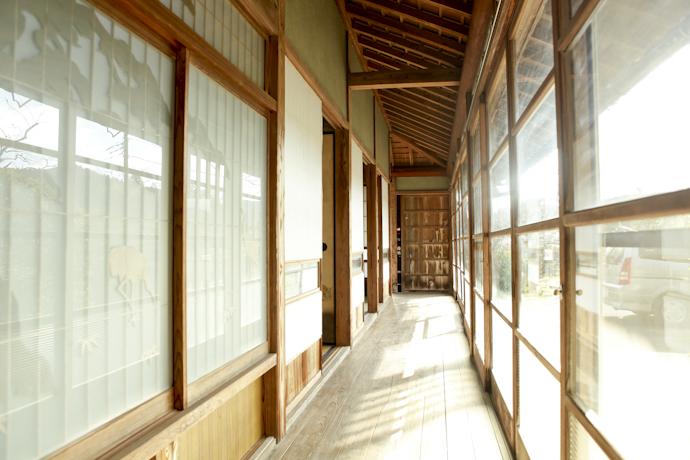縁側、和風、母屋、千葉、いすみの古民家と自然光スタジオ