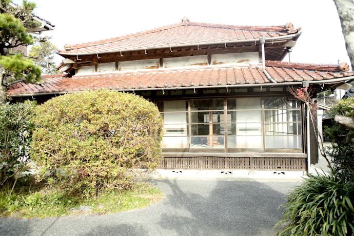 母屋、千葉、いすみの古民家と自然光スタジオ