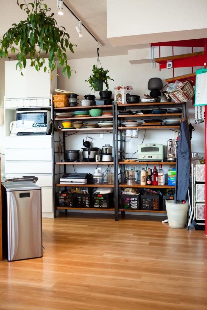調理器具、食器豊富、キッチンと生活感、植物、マンションスタジオ、関東都内の自然光スタジオ、世田谷区、眺望良好、エグゼクティブ