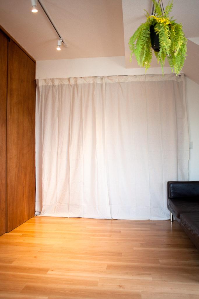カーテン、生活感、植物、マンションスタジオ、関東都内の自然光スタジオ、世田谷区、眺望良好、エグゼクティブ