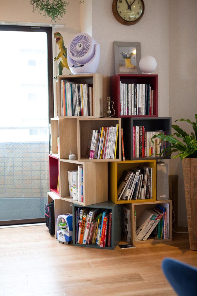 本棚と生活感、植物、マンションスタジオ、関東都内の自然光スタジオ、世田谷区、眺望良好、エグゼクティブ