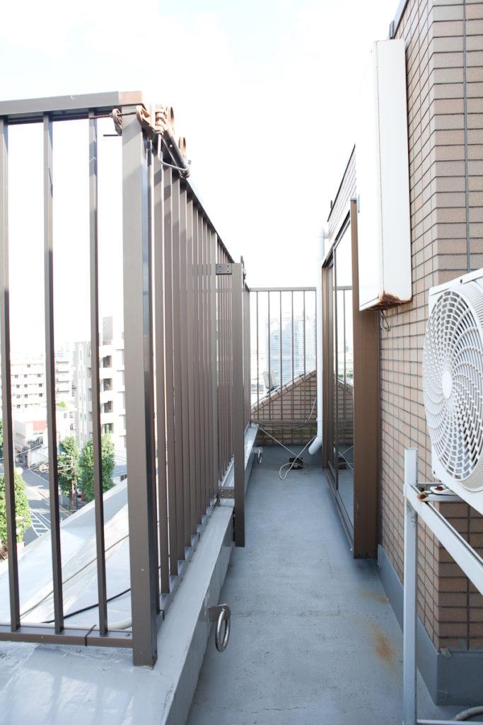 バルコニー、生活感、植物、マンションスタジオ、関東都内の自然光スタジオ、世田谷区、眺望良好、エグゼクティブ