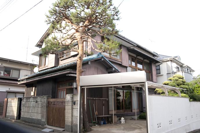 関東都内の古民家と自然光スタジオ