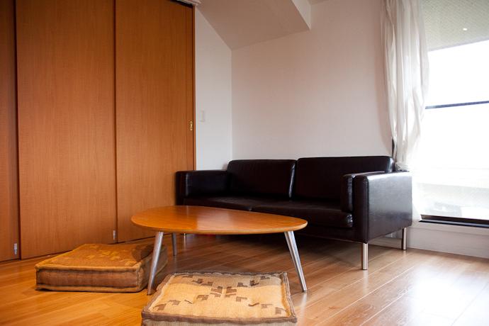 ソファ、生活感、植物、マンションスタジオ、関東都内の自然光スタジオ、世田谷区、眺望良好、エグゼクティブ