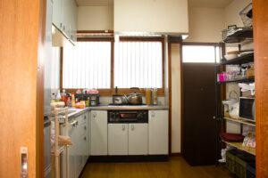 関東都内の古民家キッチン