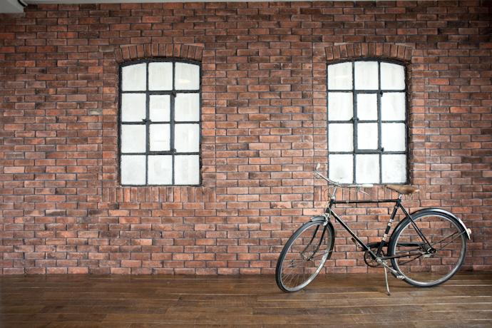ブルックリン、自転車、関東都内の自然光スタジオ、世田谷区