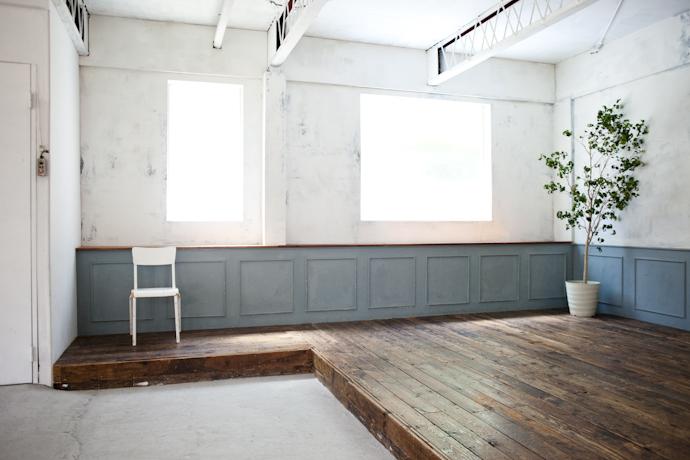 カフェ、インダストリアル、倉庫、工場、広い、関東都内の自然光スタジオ、世田谷区、二子玉川