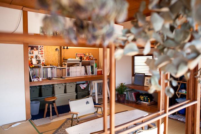 アウトドア、和モダン、関東都内の古民家と自然光スタジオ、和室、アーティスト