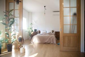 寝室、自然光、関東都内東京スタジオ、キッチン、リビング、植物